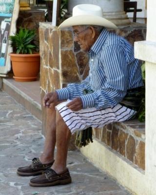 Man in traditional dress - Santiago Atitlan,Guatemala
