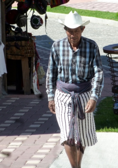 A man in traditional dress - Santiago Atitlan,Guatemala