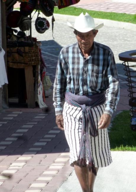 A man in traditional dress - Santiago Atitlan,Guatemala