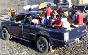 end of a festival - Antigua
