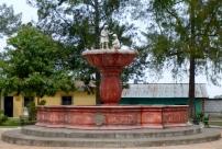 An unused fountain. Water is scarce in San Juan del Obispo