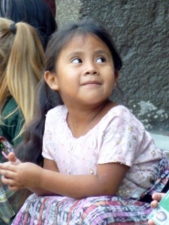 beautiful girl - Antigua,Guatemala