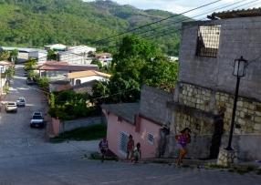 steep streets - Copan,Honduras