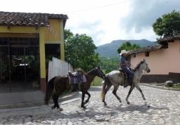 Downtown Copan,Honduras