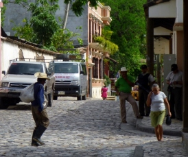 downtown Copan,Honduras