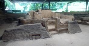 Joya de Cerén mayan ruins. The shaman's home