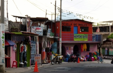 Panajachel street scene