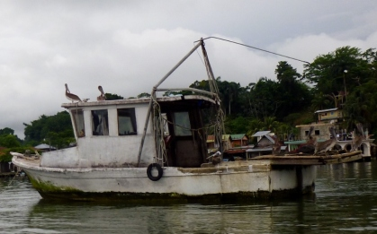 At Livingston harbor