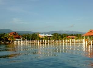 Puerto Barrios coast - leaving Livingston