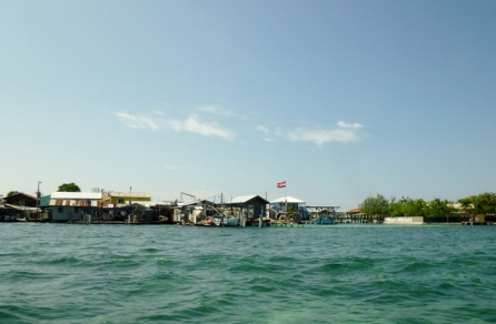 Pigeon Cay - little island near Utila