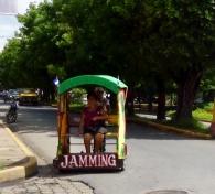 A jammin' Pedicab - Leon,Nicaragua