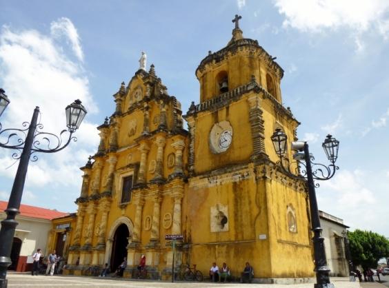 1786 La Iglesia Recoleccion - Leon