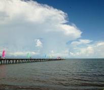 Pier in Lake Nicaragua - Granada