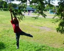 swinging on a branch - Granada, Nicaragua