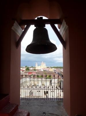 Bell tower in La Merced - Granada