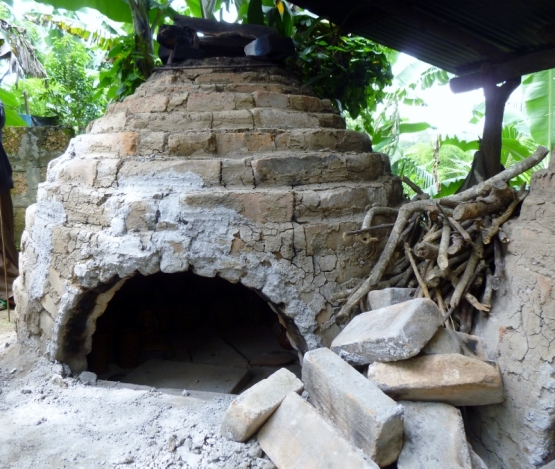 Wood fired kiln - near Masaya