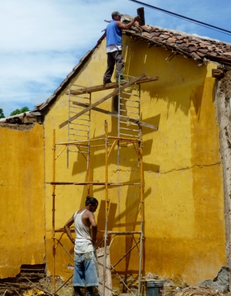 Roof work - Granada