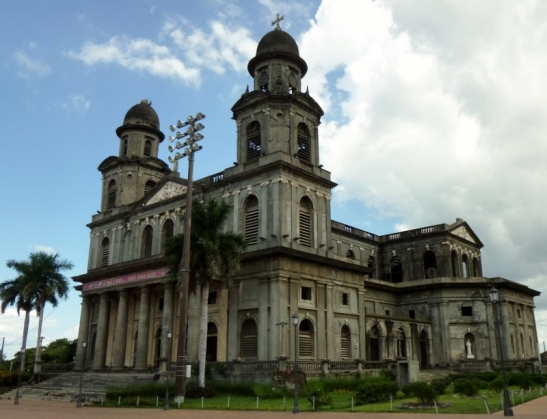 The old cathedral - destroyed in the 1972 earthquake - Managua