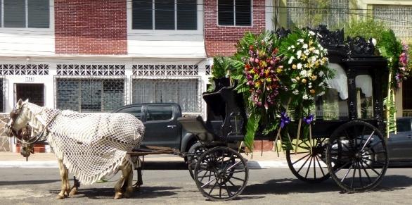 A funeral hearse - Granada