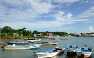 Near the municipal wharf - Big Corn Island