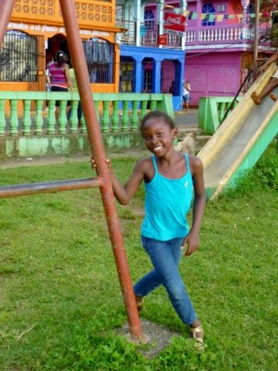 A pretty girl and smile - Big Corn Island,Nicaragua