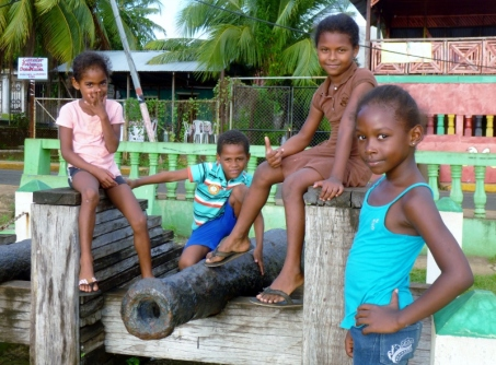 Posing for the camera - Big Corn Island