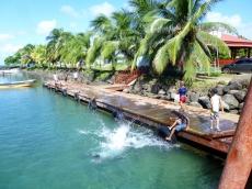At the ferry wharf - Big Corn Island