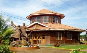 Cultural House at Big Corn Island