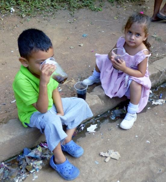 fiesta refreshments - Pantanal, Granada, Nicaragua