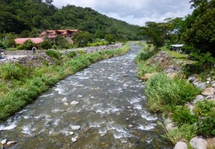 Boquete, Panama - A river runs through it