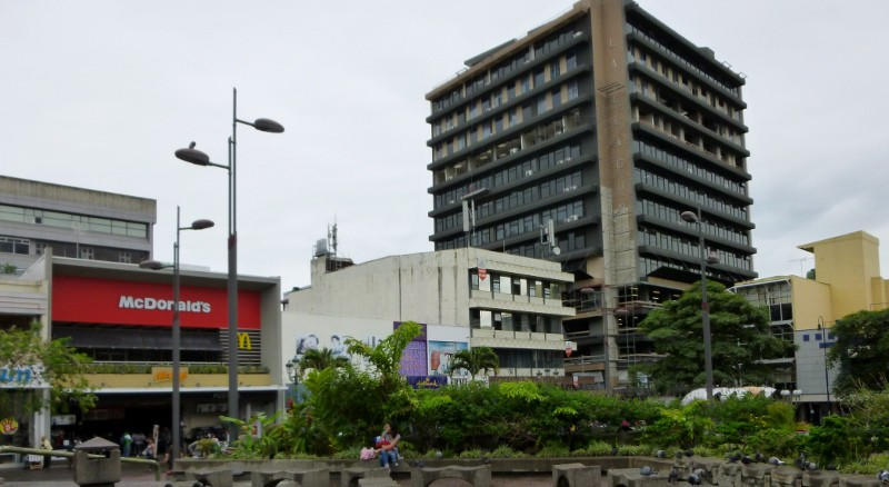 view from the Cultura de Plaza