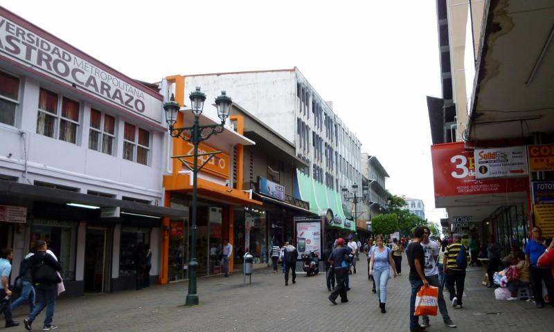 San Jose pedestrian walk