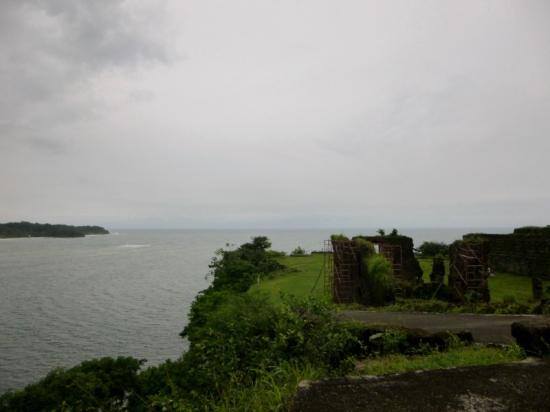 San Lorenzo Ruins - On the bluff overlooking the Pacific