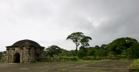 Entry and guard station to San Lorenzo Ruins - UNESCO site