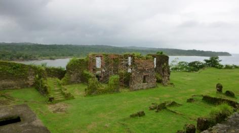 San Lorenzo Ruins in various restoration phases