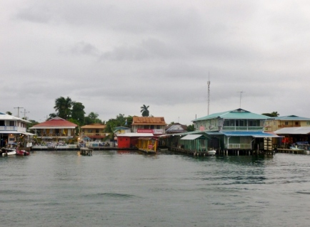 Bocas town - waterfront