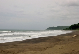 the beach at Cambutal Panama