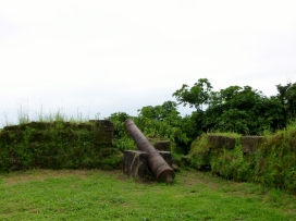 San Lorenzo 17th century Spanish cannon UNESCO World Heritage Site