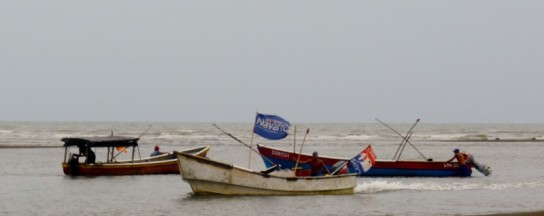 Fishing boats - Guarare, Panama
