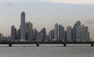 Panama City Skyline and Bay