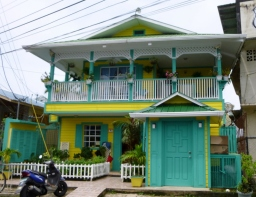 A colorful house- Bocas del Toro