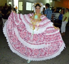 The Queen of the Pollera Festival - Las Tablas, Panama