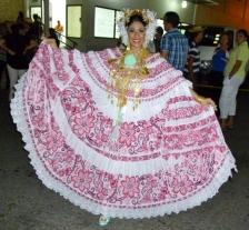 The Queen of the Pollera Festival - Las Tablas, Panama