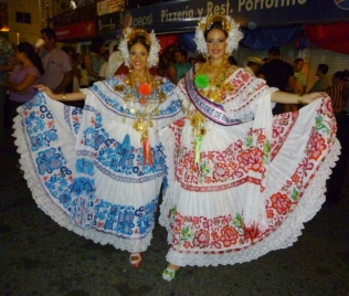 The Festival of the Pollera - Las Tablas, Panama