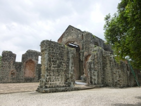 16th century ruins of Panama Viejo