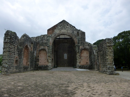 Panama Viejo in Panama City -UNESCO World Heritage Site