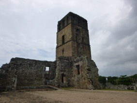 Watchtower- Panama Viejo - 16th Century ruins