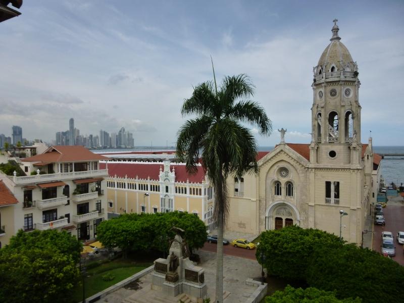 Casco Viejo rooftop view