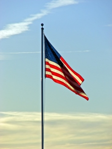 Flag photo from Padre Island