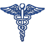 image from http://www.ipharmd.net/symbol/caduceus/blue_caduceus_medical_symbol.html